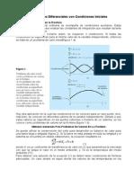Ecuaciones Diferenciales Con Condiciones Iniciales