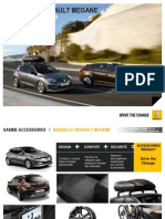 Brochure Accessoires Renault Megane