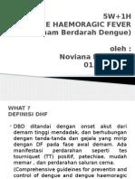 5W+1H demam berdarah dengue