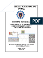 Caratula Circuitos Eléctricos II 2013