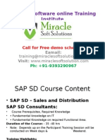 SAP Online Tutorial |Online IT Training Courses| SAP SD Online training
