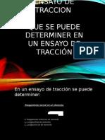 ENSAYO DE TRACCION