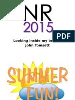 John Tomsett NR 2015