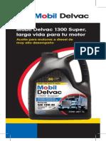 Flyer Mobil Delvac 1300 Super