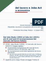 Mercato del lavoro e Jobs Act:Una lettura economicaTronti-Jobs Act - FMB Modena