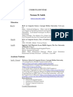 Academic Resume (Web)