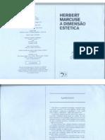 Marcuse - A Dimensão Estética