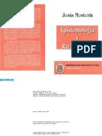 Epistemología y Racionalidad [José Mosterín]
