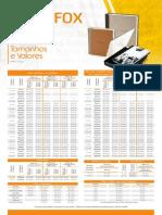Tabela Fortaleza Abril 2015