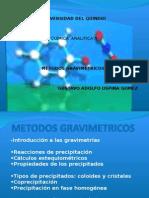 Quimica Analitica II - Metodos Gravimetricos