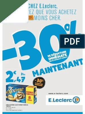 Catalogue Leclerc Hypermarches France Du 10 06 Au 20 06 2015 Magasin Paris 30 De Reduction Immediate