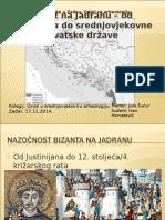 Bizant na Jadranu od Justinijana