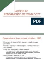 Aproximações Ao Pensamento de Winnicott
