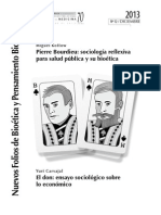 Sociologías en Salud Pública- Pierre Bourdieu y Marcel Mauss