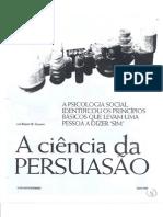 Artigo Cialdini - A ciência da Persuasão.pdf