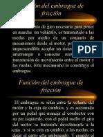 FUNCION DEL EMBRAGUE DE FRICCION.ppt