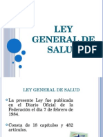 2. Ley General de Salud