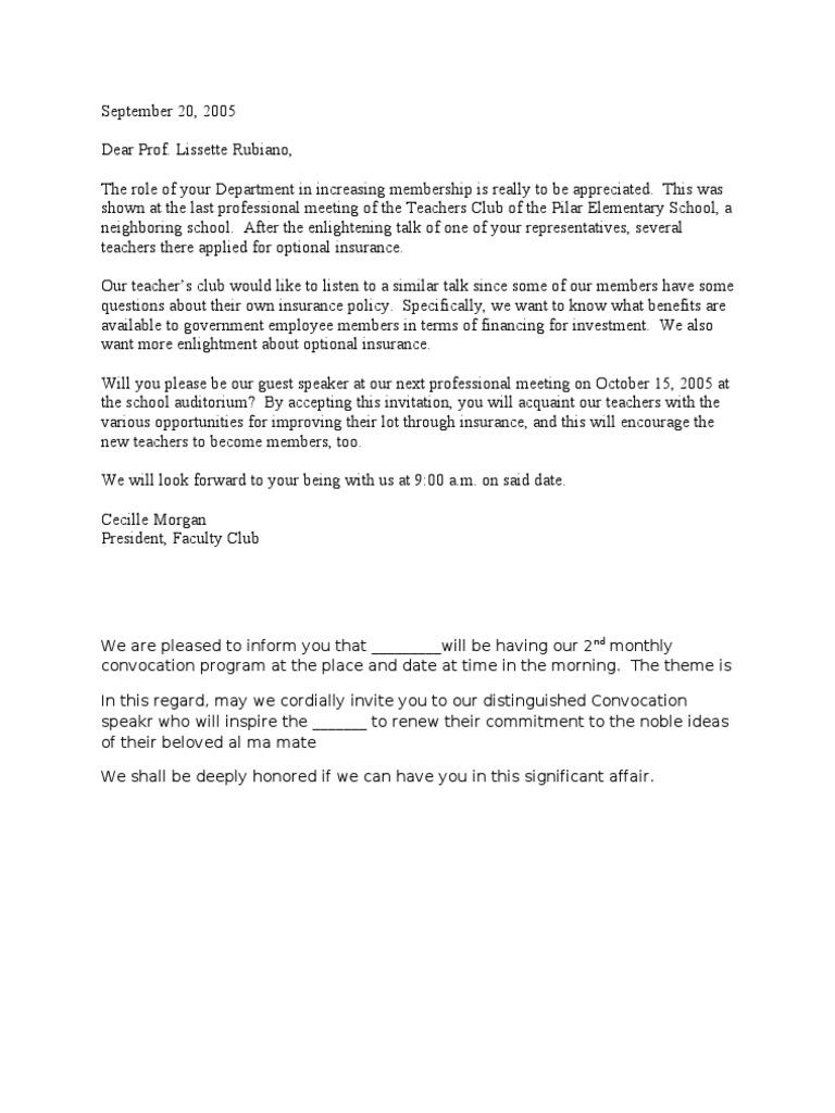 Invitation Letter For Guest Speaker from imgv2-2-f.scribdassets.com