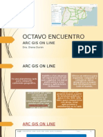 Octavo Encuentro cartografía digital
