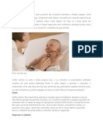 Suflul Sistolic La Bebelusi Este Provocat de Circulatia Anormala a Fluxului Sanguin Catre Inima Si Vasele Mari de Sange