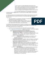 Estructura Ingresos de La Nación