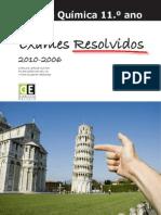 Cunha Silva Teodoro 2011 . Fisica e Quimica 11. Ano Exames Resolvidos 2010-2006