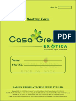 Application Form Exotica