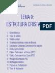 8634505 Tema 9 Estructura Cristalina