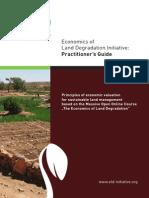 Economics of land degradation