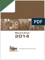 INFORME Sector de Oleaginosas y Trigo BOLIVIA 2014