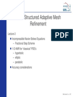 Block structured mesh refinement