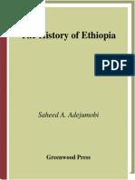 Saheed a. Adejumobi the History of Ethiopia 2006