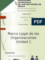 Marco Legal de Las Organizaciones