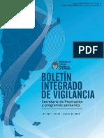 Boletín Integrado de Vigilancia N261 SE22
