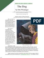 The Dog-  Otto Weininger
