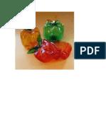 Frutas en envase de refresco