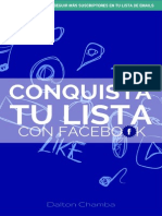 Conquista Tu Lista Con Facebook DC