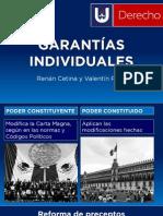 Garantías Individuales (limitaciones y reformas)