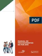 Manual de Procedimentos 2015
