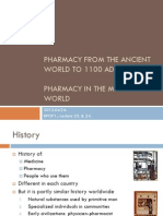 History of Pharmacy and Drug Making