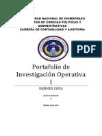 Caratula de Portafolio