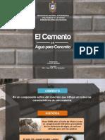 cemento y concreto armado