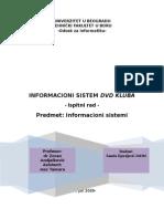 Informacioni Sistem DVD Kluba