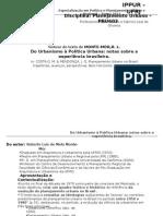 PRU603 - Do Urbanismo à Política Urbana