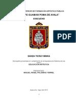 Esfap Ayacucho Presentacion Ticray Minka