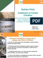 Medidas Piloto Cambio Climatico GTZ
