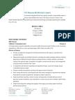 Sample Resume 2 Cfo