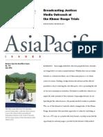 media study in Asia Pacific