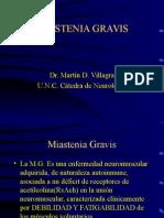 Miastenia Gravis Villagra