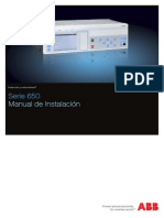 1MRK514016-UES - Es Manual de Instalacion Serie 650 1.3